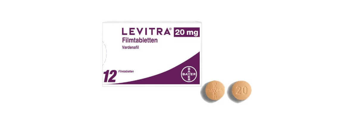 Levitra 20 mg - Filmtabletten