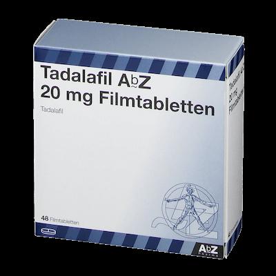 Tadalafil AbZ Filmtabletten