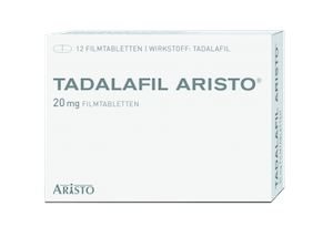 Tadalafil Aristo Cialis Generikum 20 mg Potenzmittel
