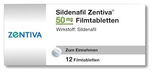 Sildenafil Zentiva - Viagra Generika 50 mg Potenzmittel