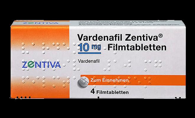 Vardenafil Zentiva Levitra Generikum