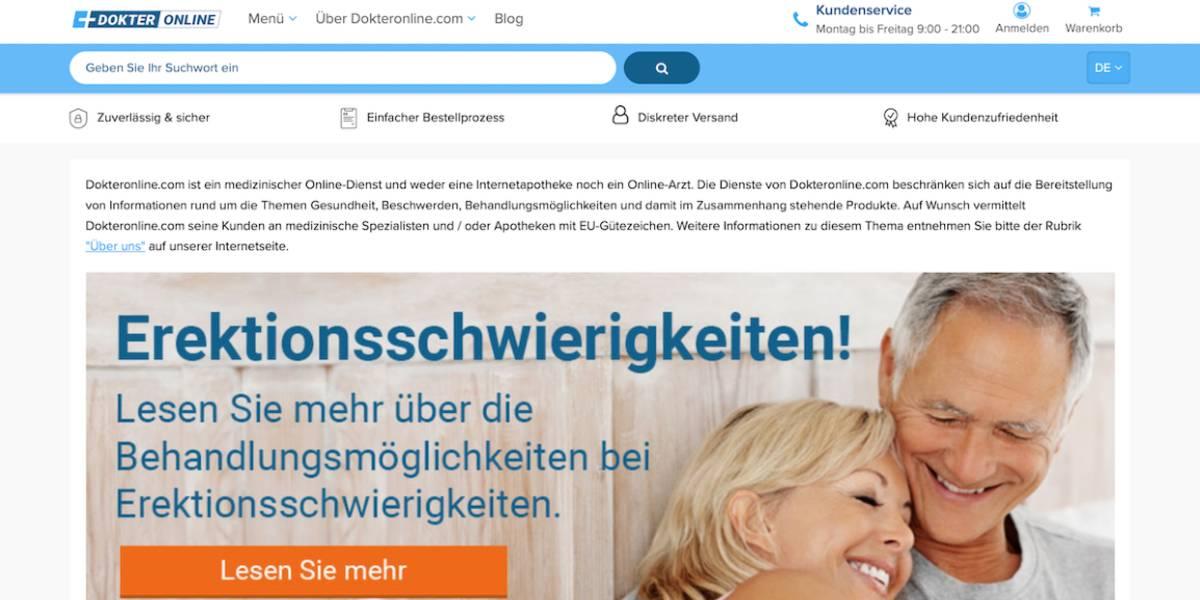 Dokteronline Online Apotheke im Check