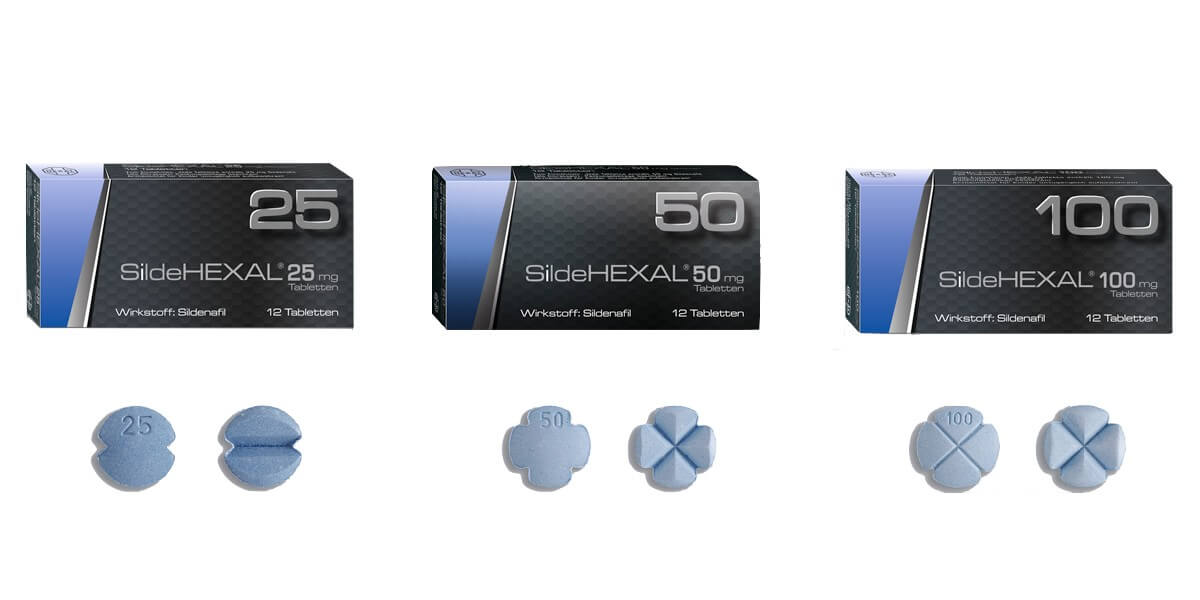 SildeHEXAL Potenzmittel Viagra Generika