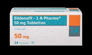 Sildenafil - 1 A Pharma - Viagra Generikum 50 mg Potenzmittel