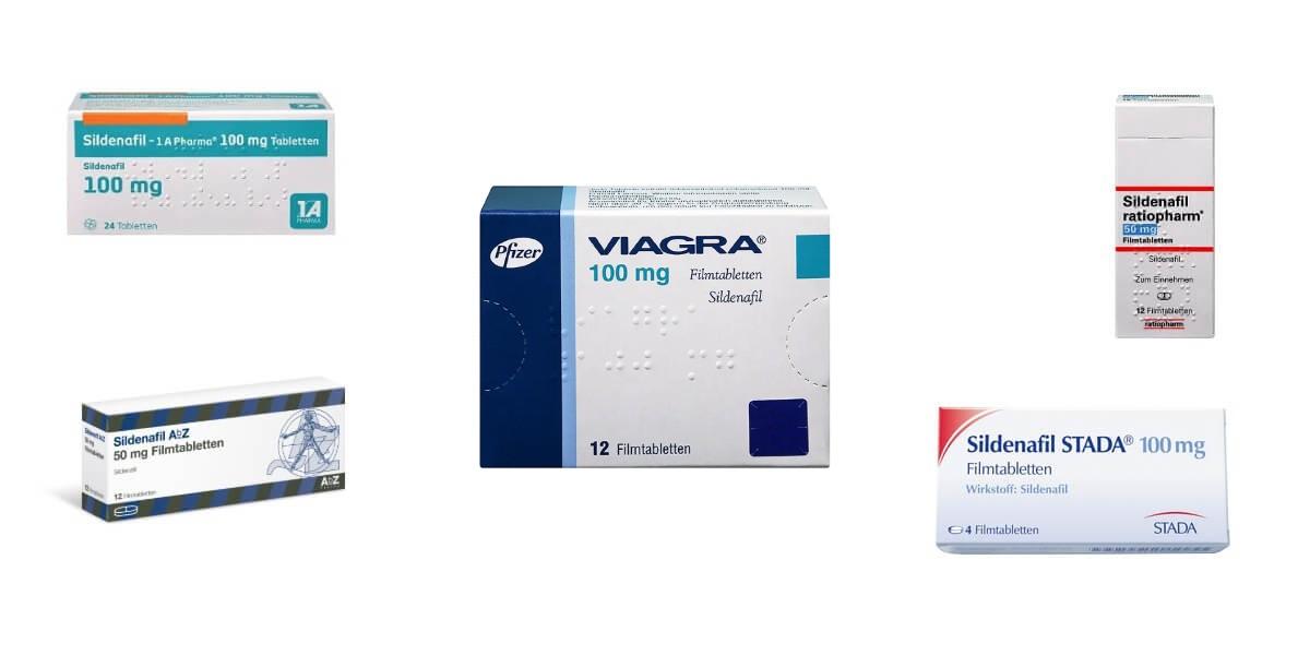 Sildenafil 100 mg Viagra Generika