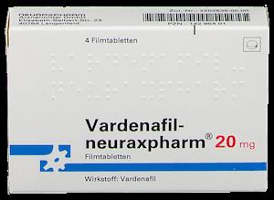 Vardenafil neuraxpharm Levitra Generikum Potenzmittel