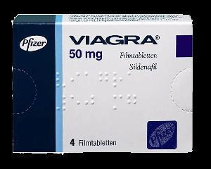 Viagra 50 mg Filmtabletten Potenzmittel