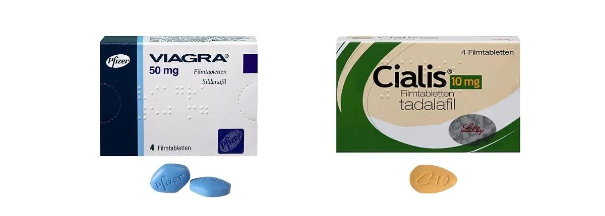 Viagra oder Cialis - Potenzmittel Vergleich
