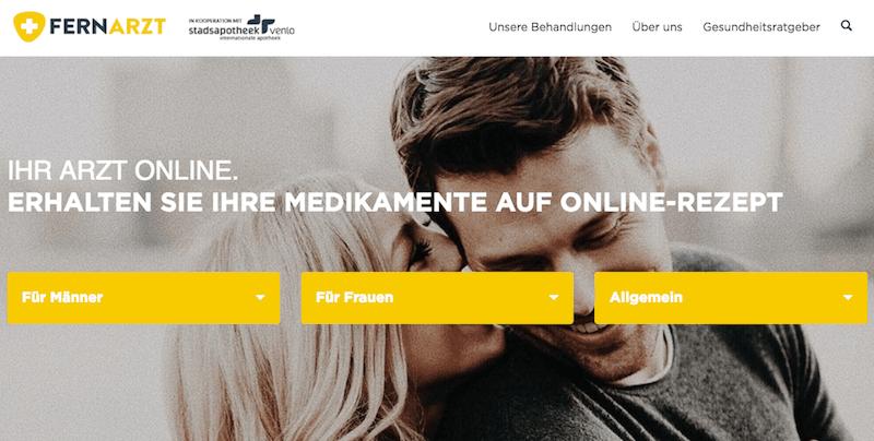 Fernarzt-Online-Apotheke